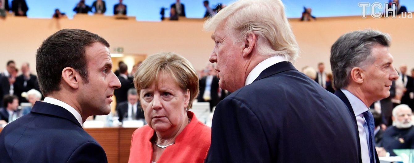 У Білому домі поки не можуть назвати дати зустрічі Меркель і Трампа