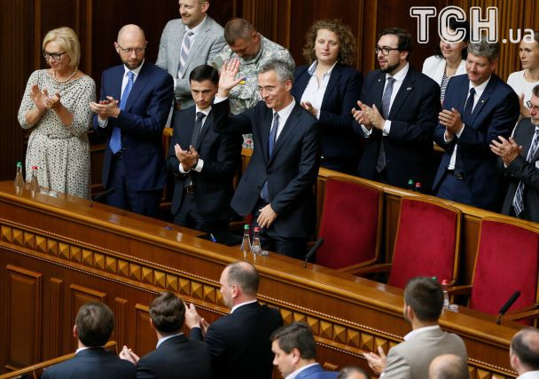 Генсек НАТО уРаді цитував Шевченка тазакликав позбутися «ракової пухлини корупції»