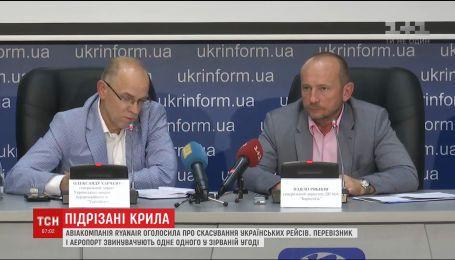 Авіакомпанія Ryanair не вийде на ринок України