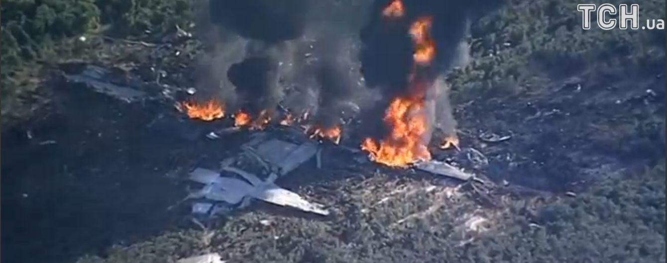 Авіакатастрофа в США: усі 16 людей на борту військового літака загинули