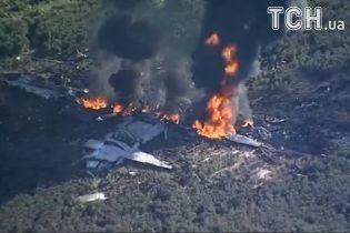Авиакатастрофа в США: все 16 человек на борту военного самолета погибли