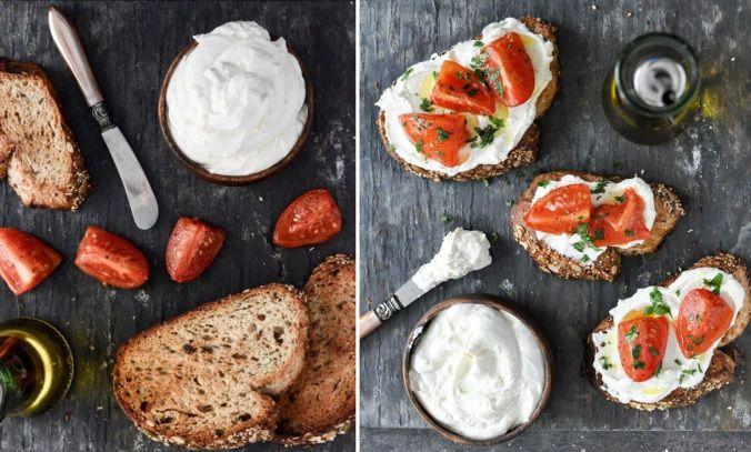 домашній крем-сир, для блогів