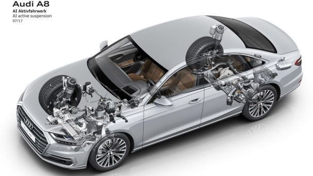 Audi представила новое поколение представительского седана A8