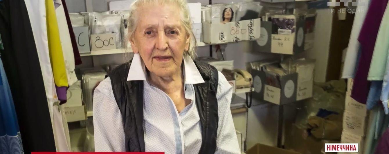 Найстарша продавчиня жіночої білизни: 97-річна німкеня розповіла про свій бізнес
