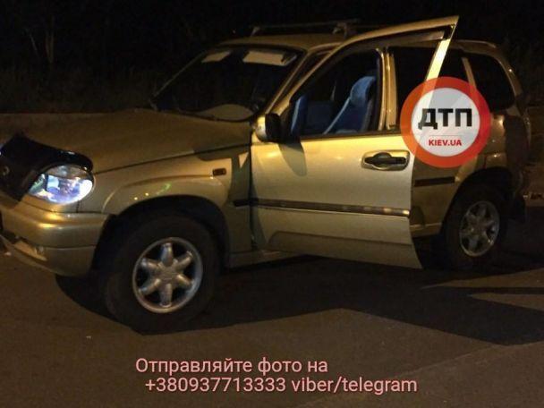 В Киеве на Днепровской набережной произошла стрельба, есть пострадавший