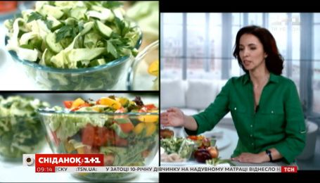 Мифы о калорийности салатов
