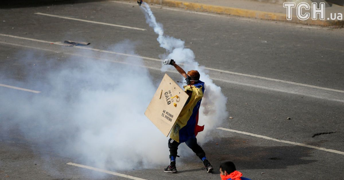 Протесты в Венесуэле @ Reuters