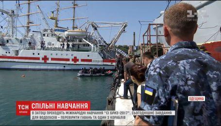 В Одесской Затоке проходит береговая фаза совместных украинского-американских учений