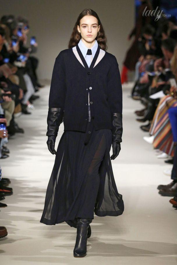 Шифоновые юбки зимой