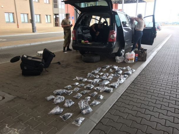 У Харкові СБУ вилучила величезну партію контрабандної зброї