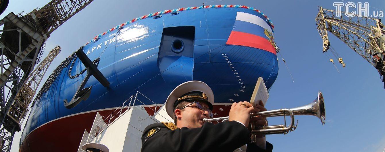 Санкции Украины сорвали России строительство атомного ледокола – СМИ