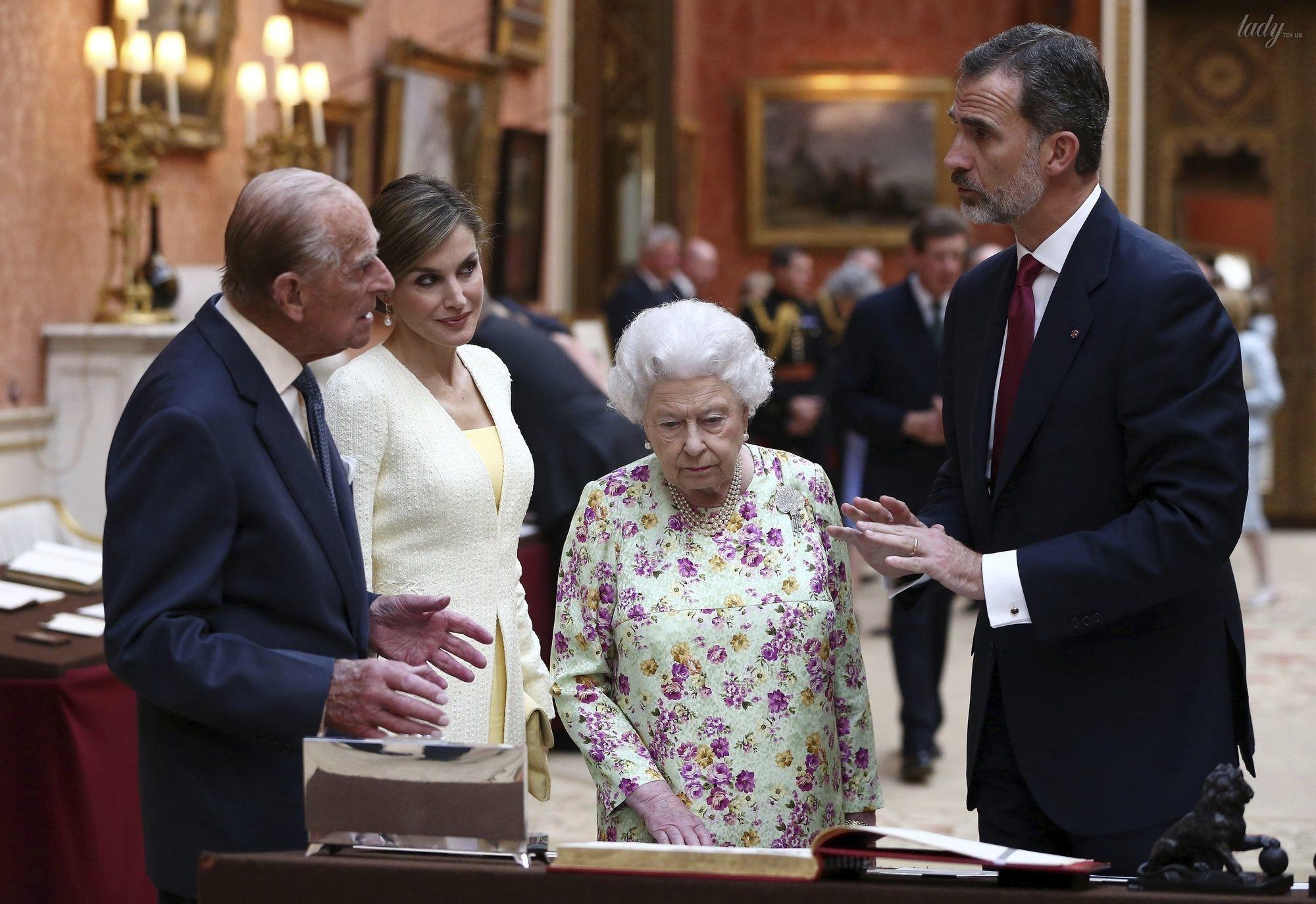 Королева Летиция в Британии