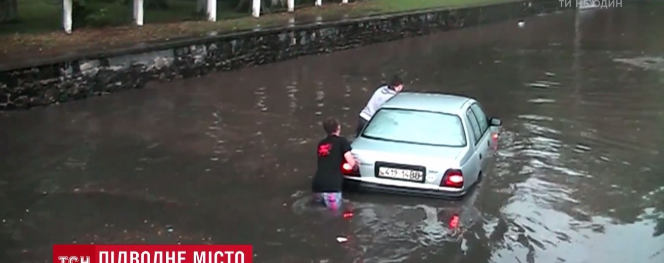 На запад Украины возвращаются ливни с 10-дневными нормами осадков