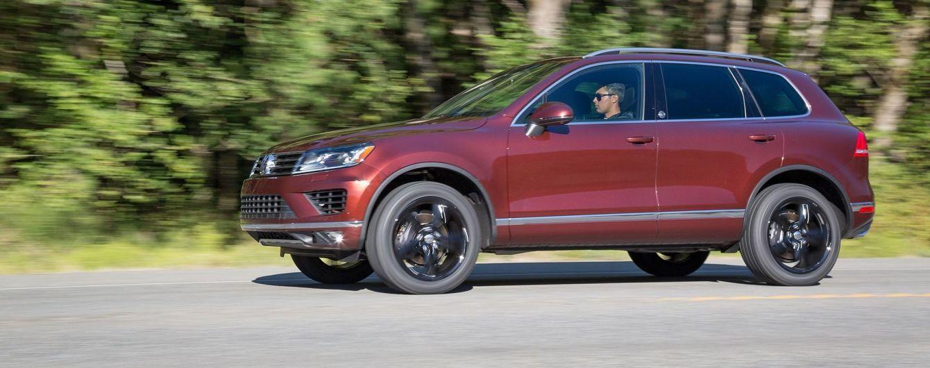 Volkswagen сворачивает продажи вседорожника Touareg в США