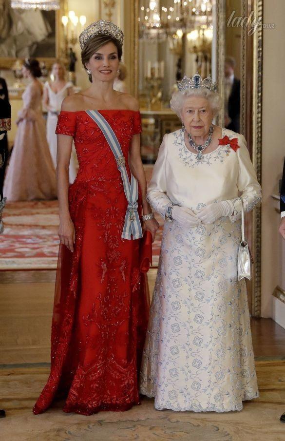 Королева Летиция и королева Елизавета II_2