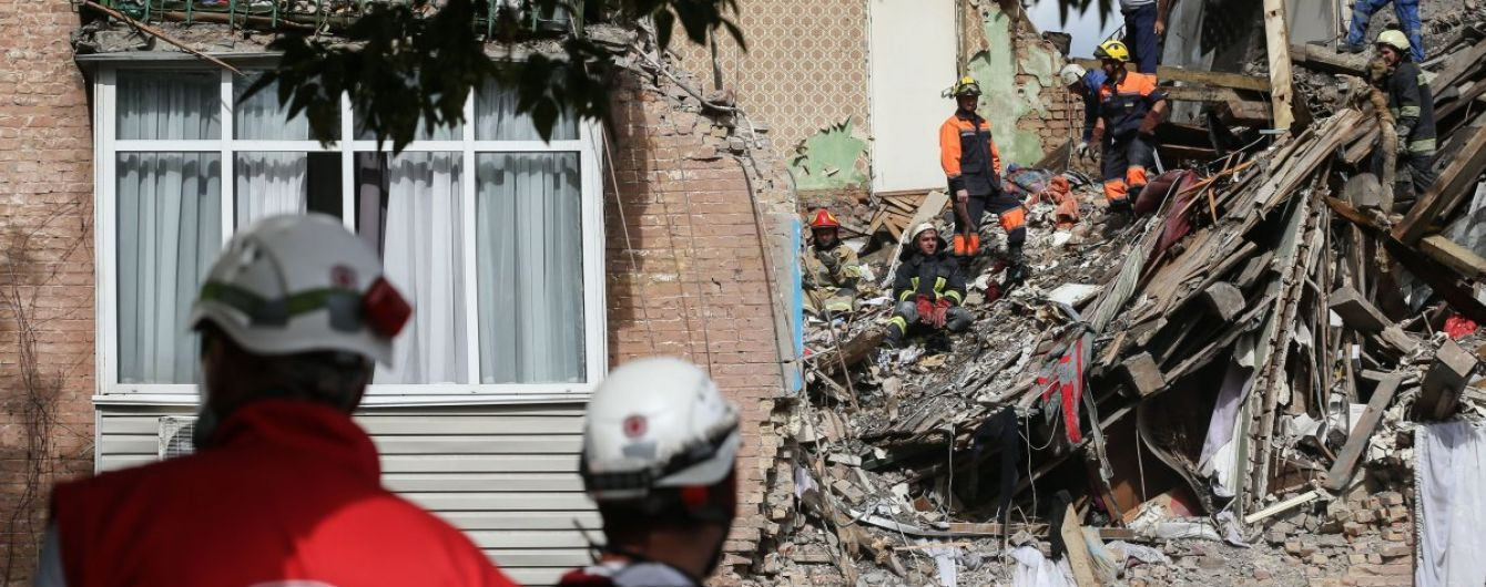 """""""Звук был ужасный"""": очевидцы рассказали о взрыве в Киеве"""