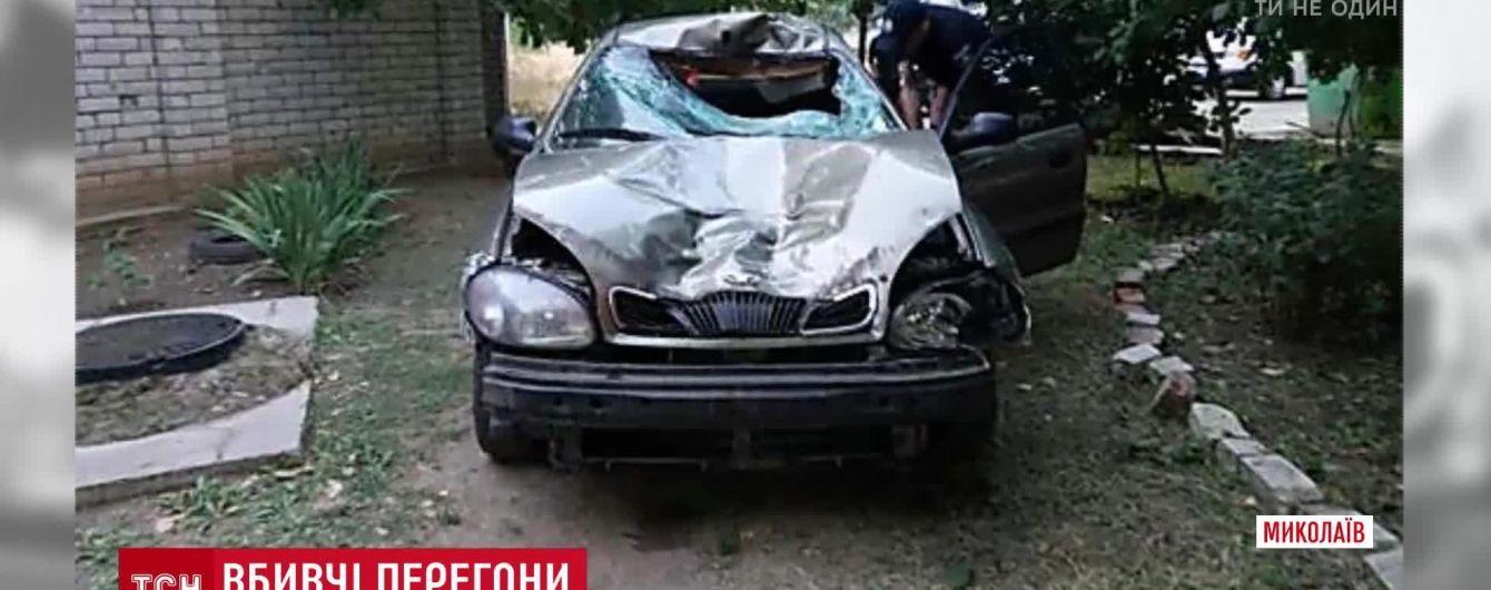 В Николаеве пьяный водитель на бешеной скорости сбил насмерть человека на переходе