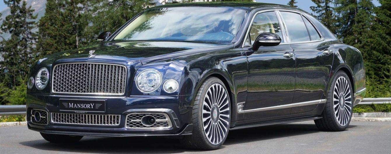 Тюнинг-ателье Mansory добавило мощности Bentley Mulsanne