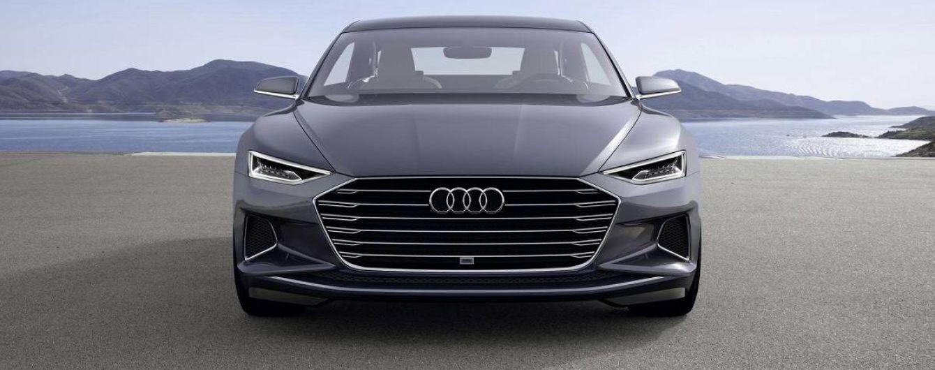 """""""Заряженные"""" Audi A8 нового поколения получат мотор от Porsche Panamera"""