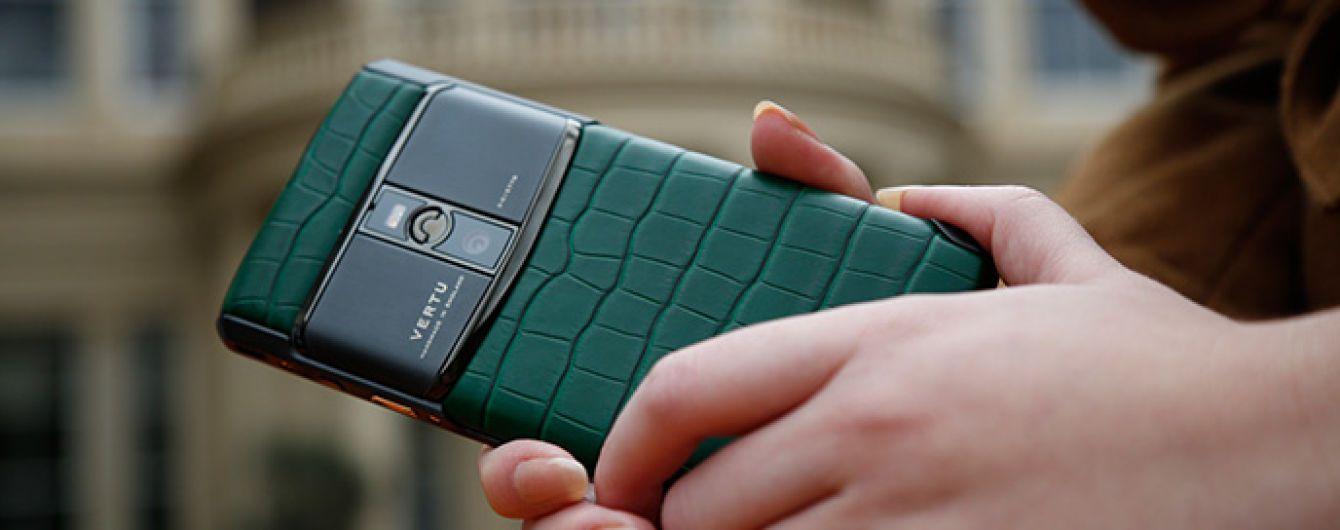 Коштовності не врятували: виробник люксових телефонів Vertu збанкрутував