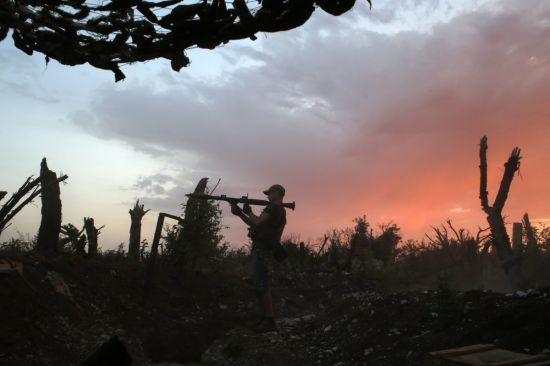 Бойовики суттєво зменшили кількість обстрілів на Донбасі. Хроніка АТО