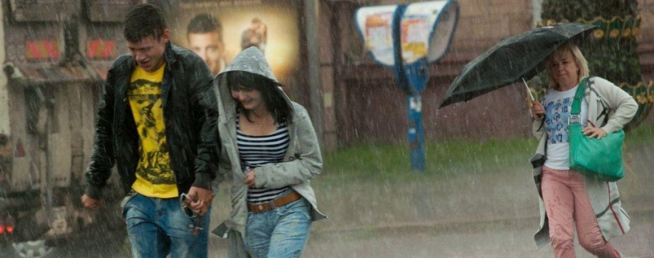 Половину України поливатимуть дощі, а в решті регіонів похолодає. Прогноз погоди на 14 липня