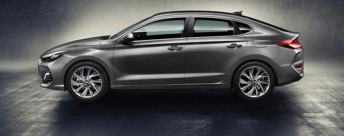 """Hyundai рассекретил i30 в кузове """"фастбек"""""""