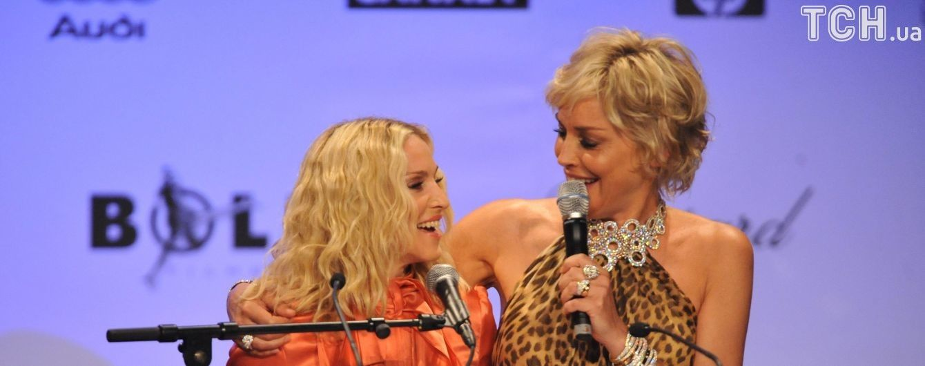 Шэрон Стоун ответила Мадонне на обвинения в посредственности