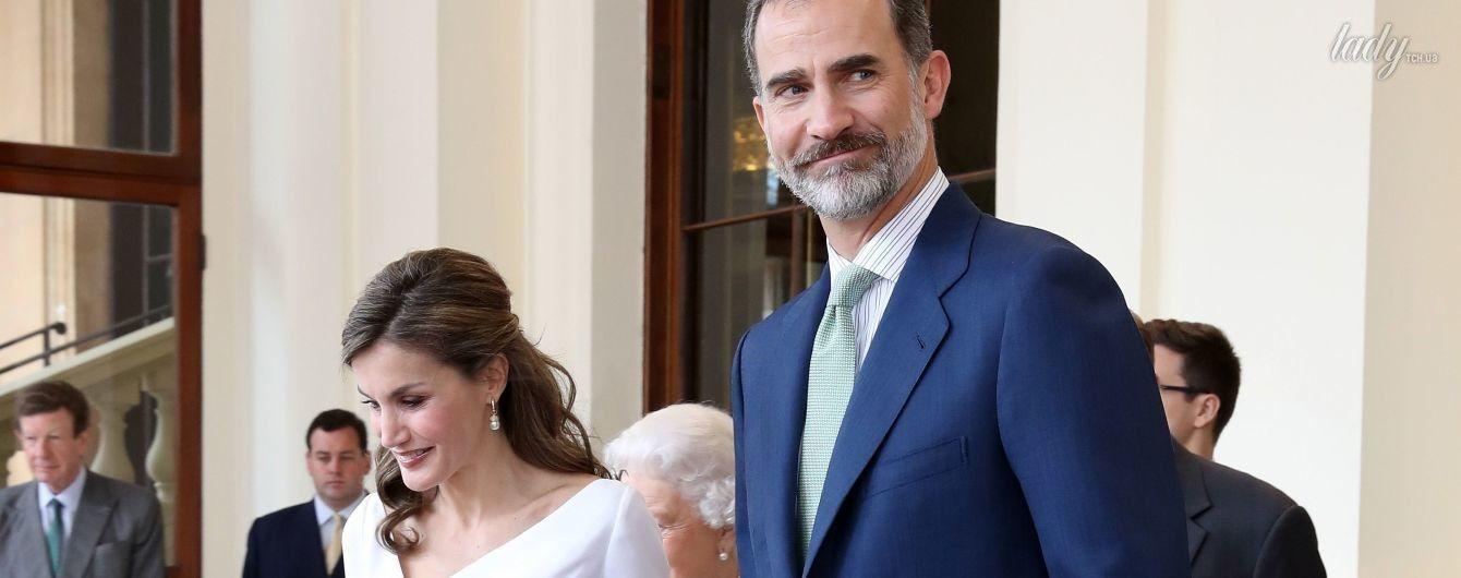 Королева Летиция и король Филипп VI покинули Букингемский дворец