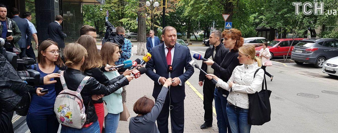 """Добкин вышел из ГПУ со словами: """"Я без наручников"""""""
