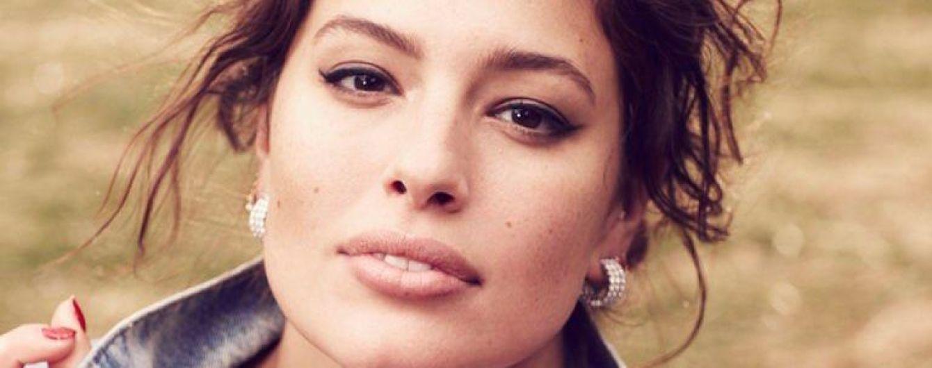 Красивая и фигуристая Эшли Грэм в новом фотосете для глянца