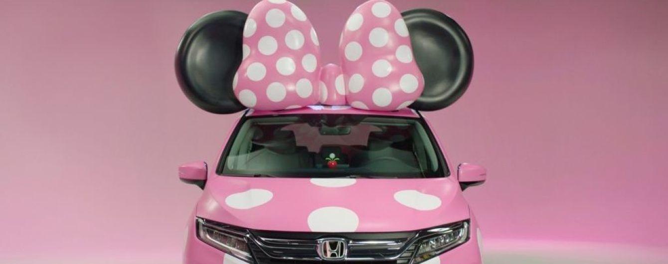 Honda посвятила минивэн Odyssey диснеевскому мульт-персонажу