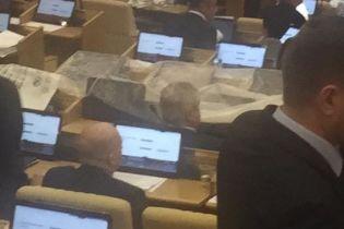 """В российской """"Госдуме"""" прервали заседание из-за протекшей крыши"""