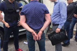В Киеве на взятке поймали полицейского