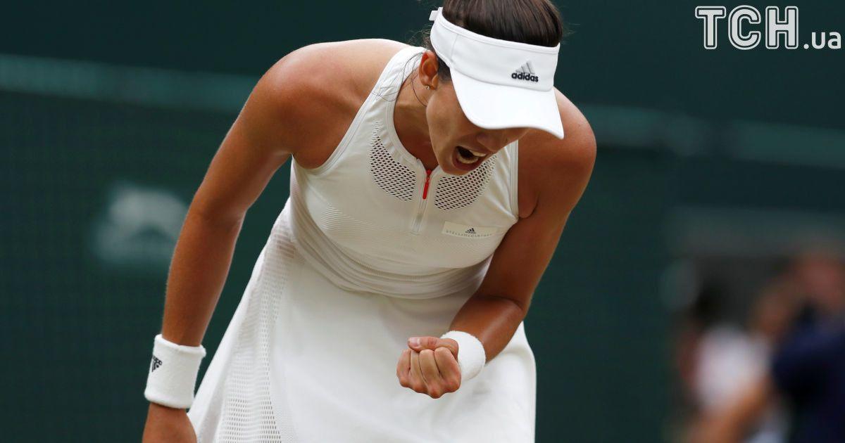 Фінал Wimbledon 2017 Гарбіньє Мугуруса - Вінус Вільямс @ Reuters