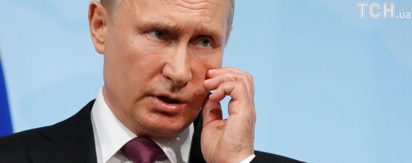 Путін похизувався незадекларованим мотоциклом