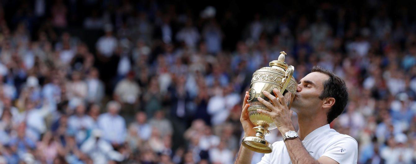Легендарний Федерер виграв рекордний восьмий Wimbledon