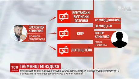 Схемы Клименко раскрыто: прокуратура показала, как разворовывались миллиарды во времена Янукокича