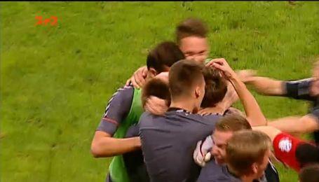 Заря - Сталь - 0:1. Видео гола Якимов