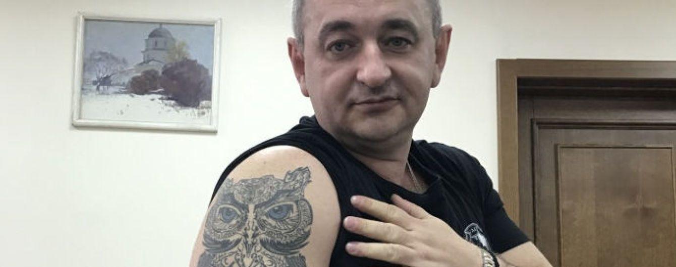 Матиос рассказал, почему, где и за сколько сделал себе огромную татуировку