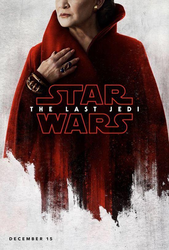 """Останні джедаї: Disney показав постери та зйомки восьмого епізоду саги """"Зоряні війни"""""""
