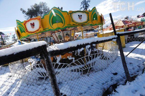Столицю Чилі завалив сніг і призвів до жертв