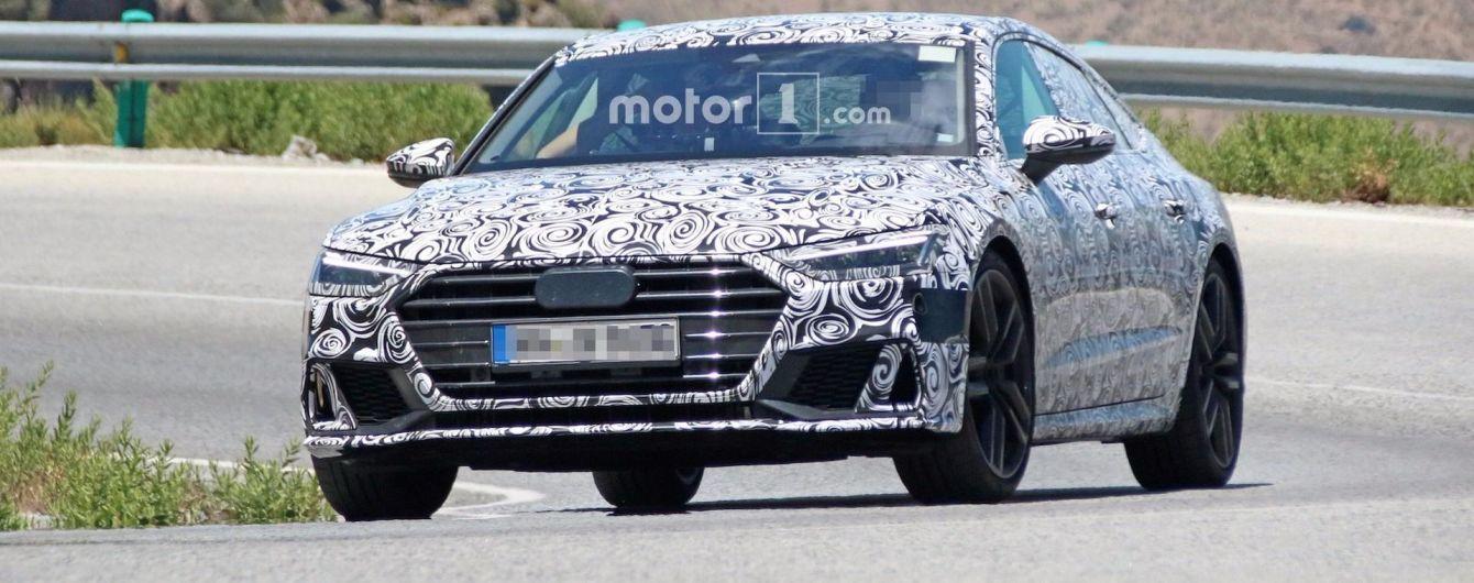 Немцы приступили к испытаниям спортивной версии Audi A7 нового поколения
