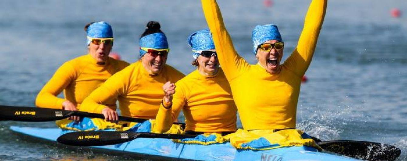 Украинские гребцы триумфально выступили на чемпионате Европы