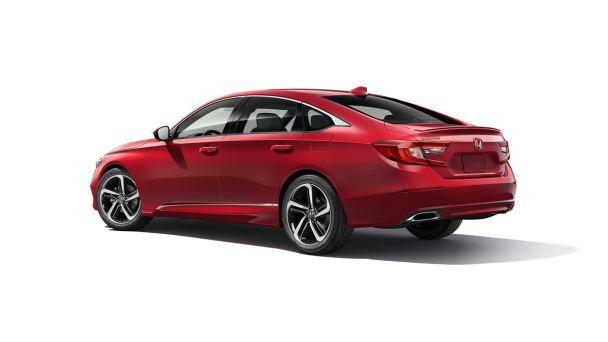 Honda представила Accord десятого поколения для США