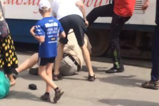 Стрельба на остановке трамвая в Запорожье: в полиции квалифицировали события, как хулиганство