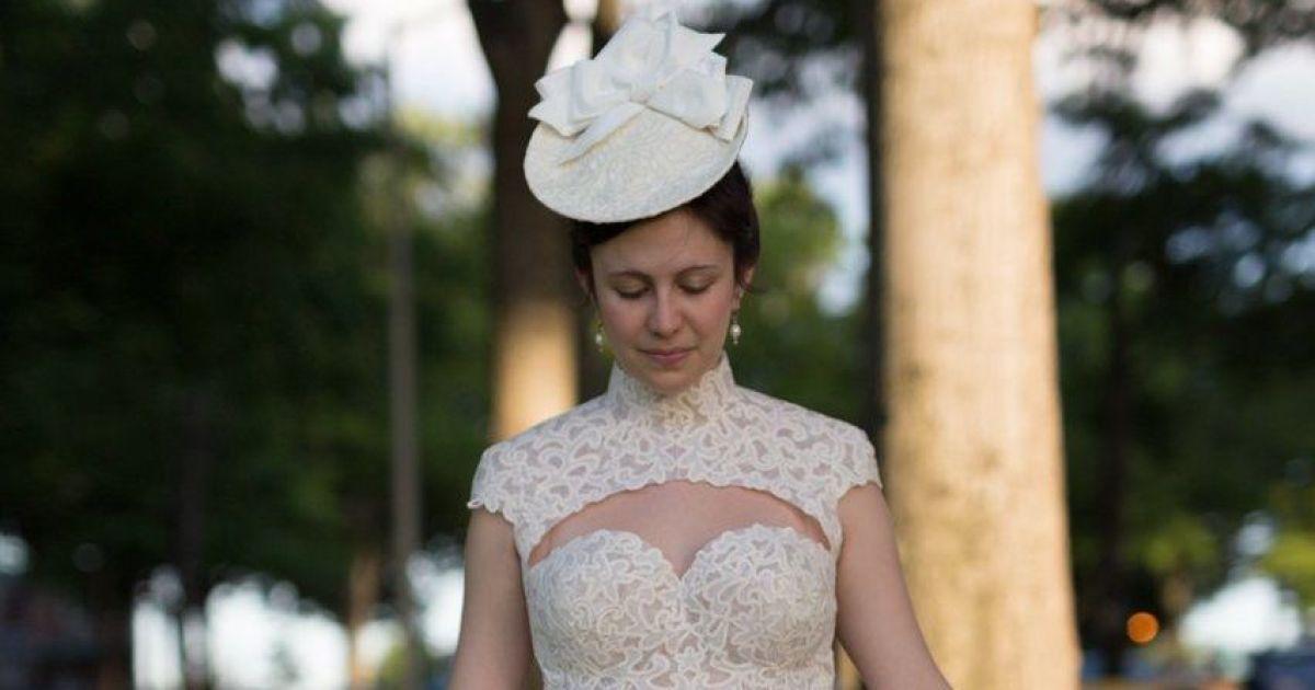 Це 13-й щорічний конкурс весільних суконь з туалетного паперу. @ Twitter/Cheap Chic Weddings