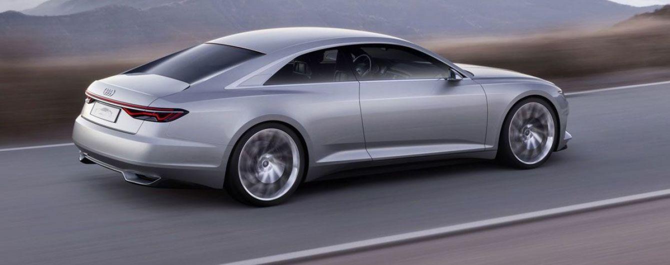 Новую Audi A8 протестировали ведром с водой