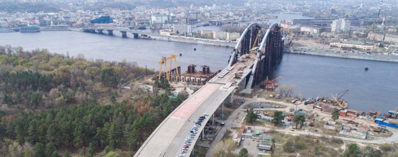 Кличко анонсував терміни добудови Подільсько-Воскресенського мосту та реконструкції Шулявського
