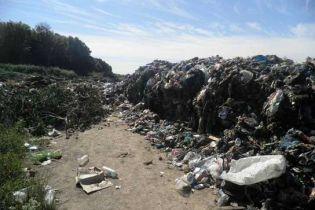 На Киевщине обнаружили 40 тонн львовского мусора